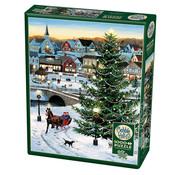 Cobble Hill Puzzles Cobble Hill Village Tree Puzzle 1000pcs