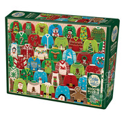 Cobble Hill Puzzles Cobble Hill Ugly Xmas Sweater Puzzle 1000pcs