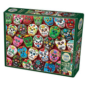 Cobble Hill Puzzles Cobble Hill Sugar Skull Cookies Puzzle 1000pcs