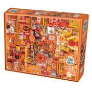 Cobble Hill Puzzles Cobble Hill Rainbow Collection Orange Puzzle 1000pcs