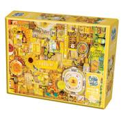 Cobble Hill Puzzles Cobble Hill Rainbow Collection Yellow Puzzle 1000pcs