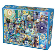 Cobble Hill Puzzles Cobble Hill Rainbow Collection Blue Puzzle 1000pcs