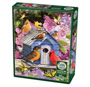 Cobble Hill Puzzles Cobble Hill Spring Birdhouse Puzzle 1000pcs