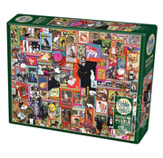 Cobble Hill Puzzles Cobble Hill Catsville Puzzle 1000pcs