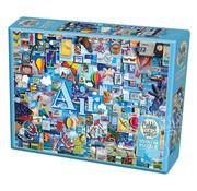 Cobble Hill Puzzles Cobble Hill Air: The Elements Collection Puzzle 1000pcs