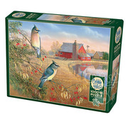 Cobble Hill Puzzles Cobble Hill Cedar Waxwings Puzzle 1000pcs