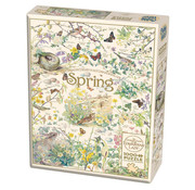 Cobble Hill Puzzles Cobble Hill Country Diary Spring Puzzle 1000pcs