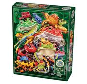 Cobble Hill Puzzles Cobble Hill Frog Business Puzzle 1000pcs