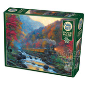 Cobble Hill Puzzles Cobble Hill Smoky Train Puzzle 1000pcs
