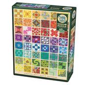 Cobble Hill Puzzles Cobble Hill Common Quilt Blocks Puzzle 1000pcs