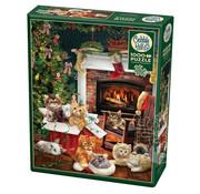 Cobble Hill Puzzles Cobble Hill Christmas Kittens Puzzle 1000pcs