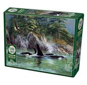 Cobble Hill Puzzles Cobble Hill Orcas Puzzle 1000pcs