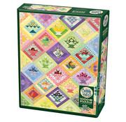 Cobble Hill Puzzles Cobble Hill Fruit Basket Quilt Puzzle 1000pcs