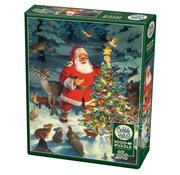 Cobble Hill Puzzles Cobble Hill Santa's Tree Puzzle 1000pcs
