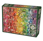 Cobble Hill Puzzles Cobble Hill Colourful Rainbow Puzzle 1000pcs