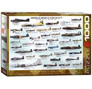 Eurographics Eurographics World War II Aircraft Puzzle 1000pcs
