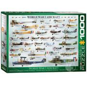 Eurographics Eurographics World War I Aircraft Puzzle 1000pcs