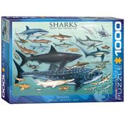 Eurographics Eurographics Sharks Puzzle 1000pcs