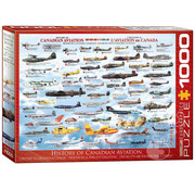 Eurographics Eurographics History of Canadian Aviation Puzzle 1000pcs