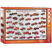Eurographics Eurographics Vintage Fire Engines Puzzle 1000pcs