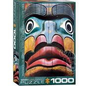 Eurographics Eurographics Totem Pole, Comox Valley BC Puzzle 1000pcs