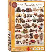 Eurographics Eurographics Chocolate Puzzle 1000pcs