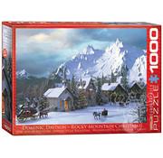 Eurographics Eurographics Rocky Mountain Christmas Puzzle 1000pcs