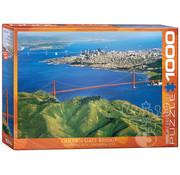 Eurographics Eurographics Golden Gate Bridge San Francisco, California Puzzle 1000pcs