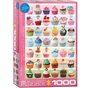 Eurographics Eurographics Cupcake Celebration - Sweet Collection Puzzle 1000pcs