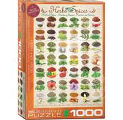 Eurographics Eurographics Herbs & Spices  Puzzle 1000pcs