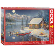 Eurographics Eurographics A Cozy Christmas Puzzle 1000pcs