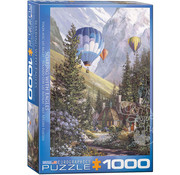 Eurographics Eurographics Soaring with Eagles Puzzle 1000pcs