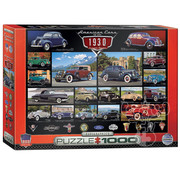 Eurographics Eurographics American Cars of the 1930s Puzzle 1000pcs