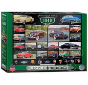 Eurographics Eurographics American Cars of the 1940s Puzzle 1000pcs