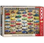Eurographics Eurographics Pickup Truck Evolution Puzzle 1000pcs