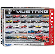 Eurographics Eurographics Ford Mustang Evolution Puzzle 1000pcs