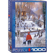 Eurographics Eurographics Hockey Season Puzzle 1000pcs