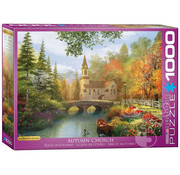 Eurographics Eurographics Autumn Church Puzzle 1000pcs