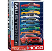 Eurographics Eurographics Ford Mustang - 50 Years Puzzle 1000pcs