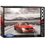 Eurographics Eurographics 2015 Ford Mustang GT Fifty Years of Power Puzzle 1000pcs