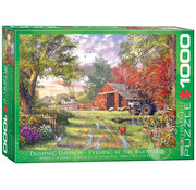 Eurographics Eurographics Evening at the Barnyard Puzzle 1000pcs
