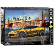 Eurographics Eurographics 2015 Corvette Z06 Out for a Spin Puzzle 1000pcs