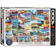 Eurographics Eurographics Globetrotter Beaches Puzzle 1000pcs
