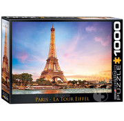Eurographics Eurographics Paris La Tour Eiffel Puzzle 1000pcs