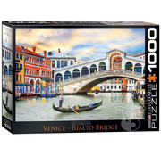 Eurographics Eurographics Venice Rialto Bridge Puzzle 1000pcs