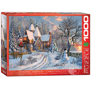 Eurographics Eurographics Christmas Cottage Puzzle 1000pcs