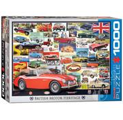 Eurographics Eurographics British Motor Heritage Puzzle 1000pcs