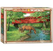 Eurographics Eurographics Sweet Water Bridge Puzzle 1000pcs