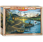 Eurographics Eurographics Autumn Retreat Puzzle 1000pcs