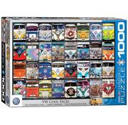 Eurographics Eurographics VW Cool Faces Puzzle 1000pcs